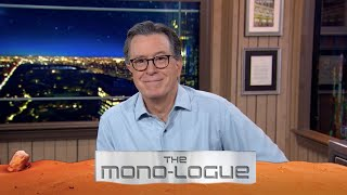 Stephen Colbert's Monologue Does As The Monolith Wishes