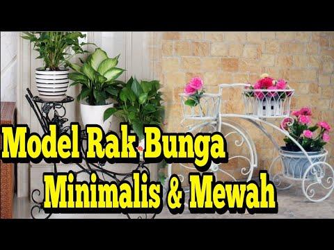 Model Rak Bunga Dari Besi Minimalis Mewah Youtube