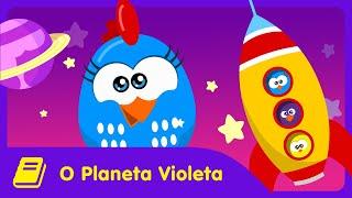Galinha Pintadinha Mini - Historinha - Planeta Violeta