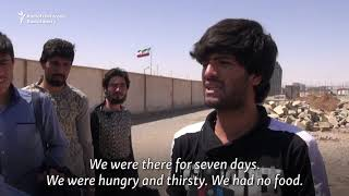 As Iran's Economy Suffers, Afghan Migrants Are Forced To Go Home
