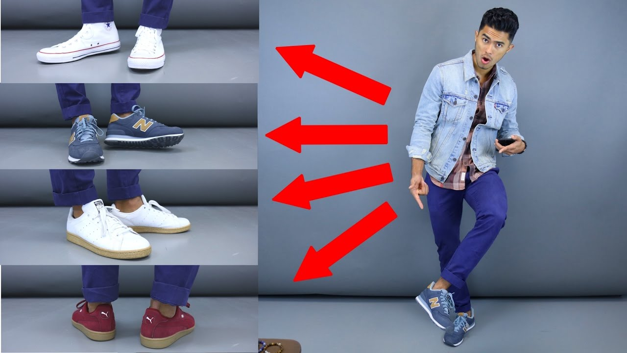 df522c45dbd2 4 Sneakers You Can Wear With Chinos - YouTube