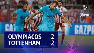 Olympiacos vs Tottenham Hotspur (2-2)   UEFA Champions League Highlights