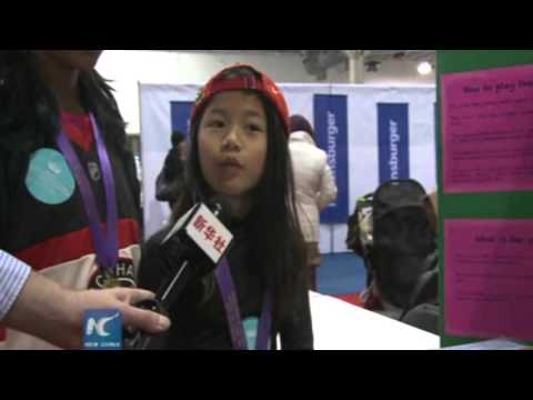 11-year-old Chinese girl invents new sport