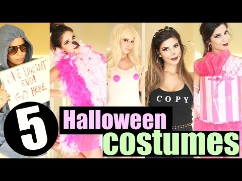 DIY Last Minute Halloween Costume Ideas 2015