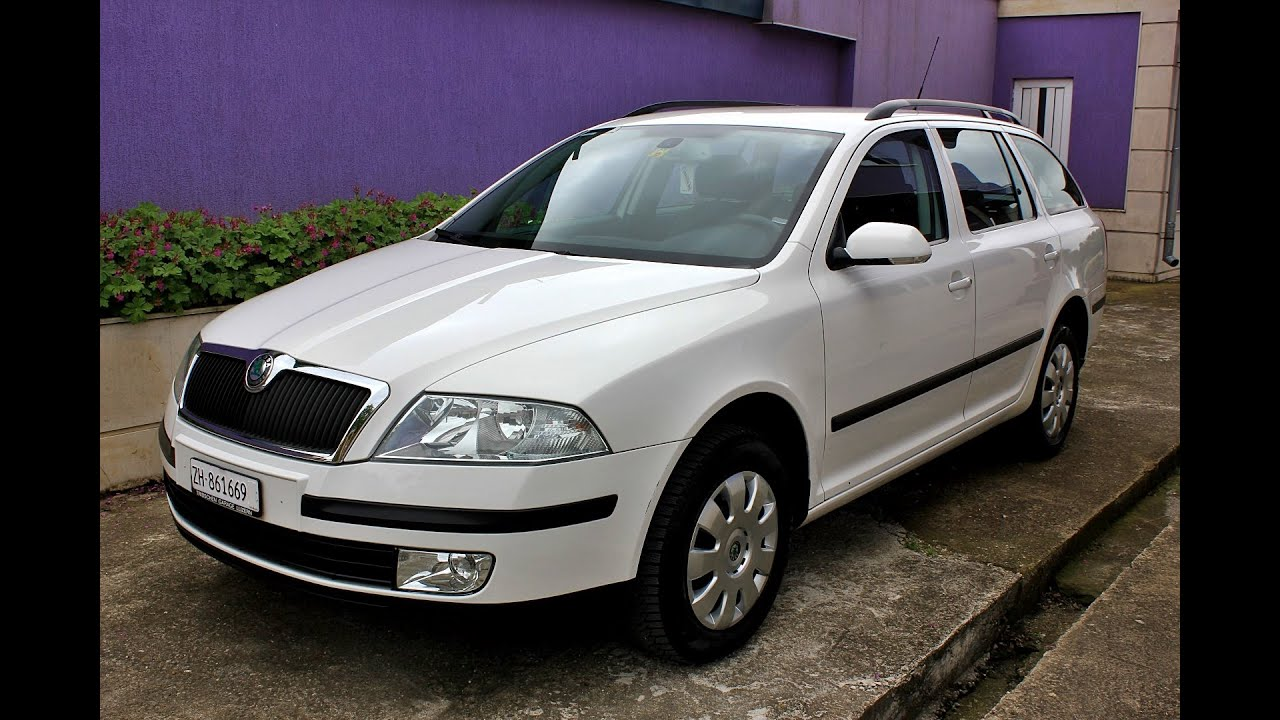 skoda octavia 2 0fsi 4x4 2006 150hp wagon hd youtube. Black Bedroom Furniture Sets. Home Design Ideas