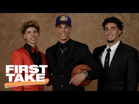LaVar Ball Says Lonzo Will Lead Lakers To Playoffs This Season | First Take | June 23, 2017