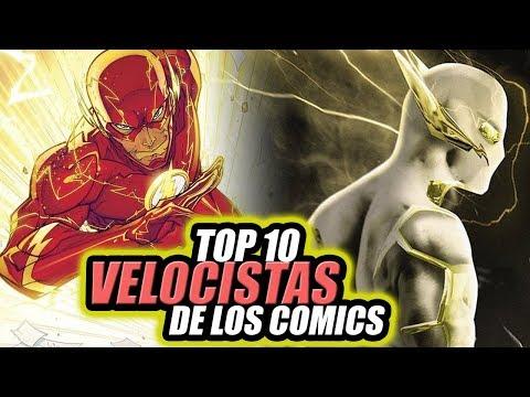 TOP 10 Velocistas Más Rápidos de The Flash (Comics).