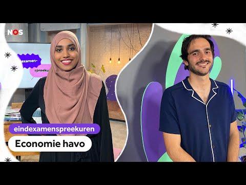 Examenspreekuur havo economie met docenten Sahar en Ergün