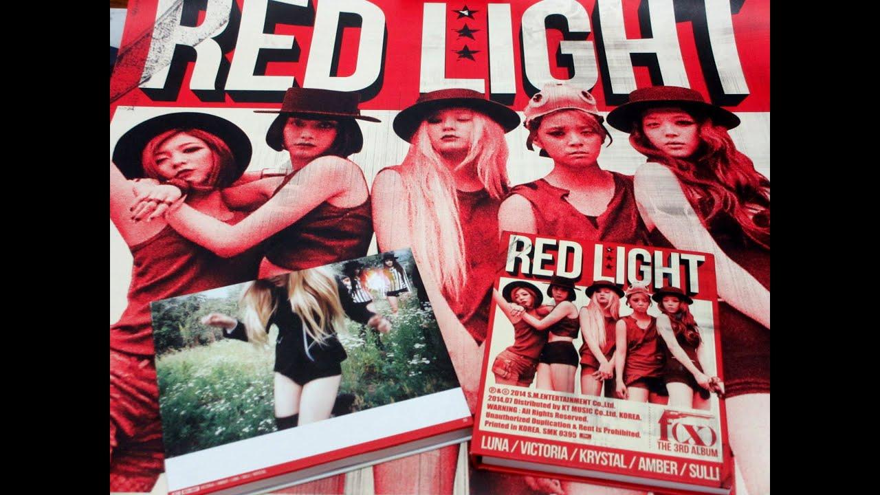 F(x) The 3rd Album 'Red Light' Sleepy Cat + Wild Cat Ver ...