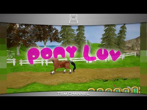 Pony Luv онлайн игра для малышей Игры про лошадей