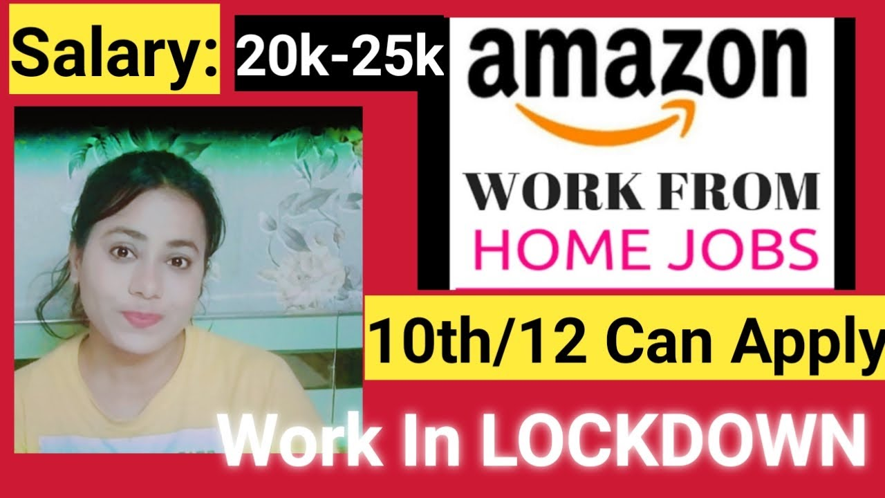 Amazon Work From Home Customer Service Salary Amazon Is Hiring Nearly 1 100 Full Time Work From Home Employees With Full Benefits