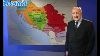 Kartenkunde Bosnien - Peter Scholl-Latour