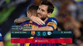 Barcelona vs Alaves [3-0] - MATCH REVIEW