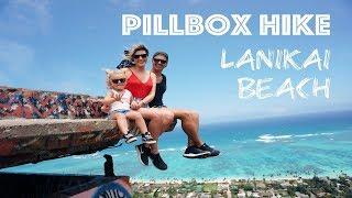 HAWAII FAMILY VLOG: Pillbox Hike + Lanikai Beach Adventures OAHU