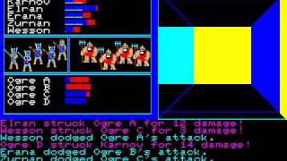 [PC-88] The Black Onyx (1984) (BPS) [Translation]