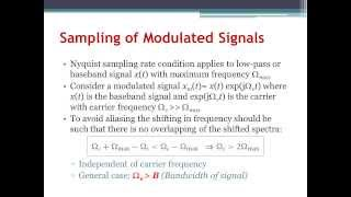 Digital Signal Processing Ch7: Sampling (Arabic Narration)