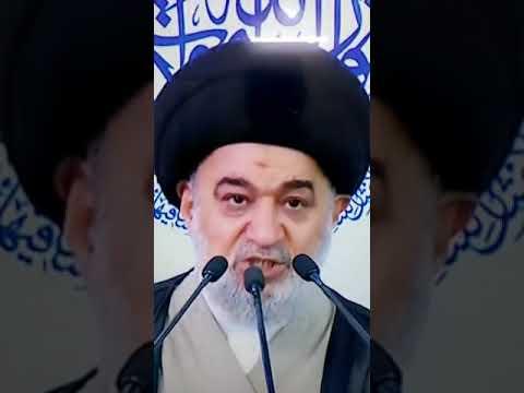 الى عادل عبد المهدي وحكومته: المرجعية قالت ما يجب أن يقال، فهل ستشعرون وتخجلون فتستجيبون؟