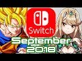 10 Nintendo Switch Games Coming September 2018!