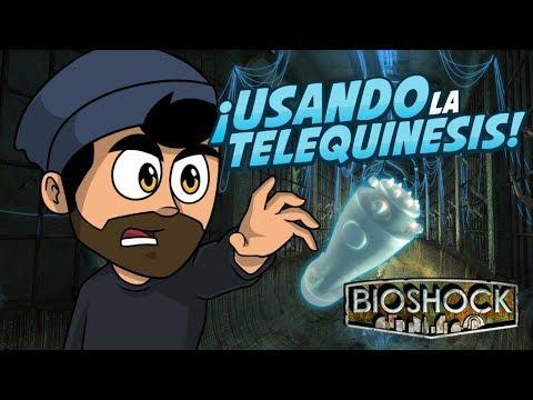 ¡USANDO LA TELEQUINESIS! | Bioshock #2