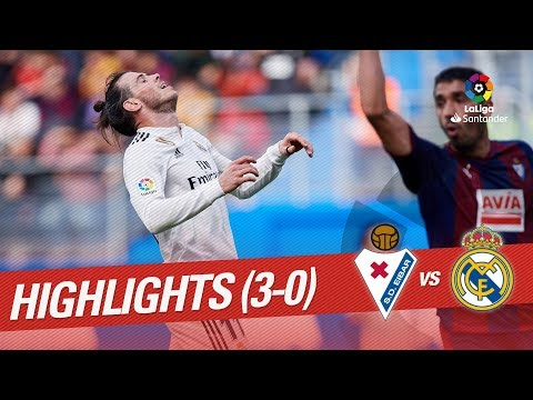 Highlights SD Eibar vs Real Madrid (3-0)