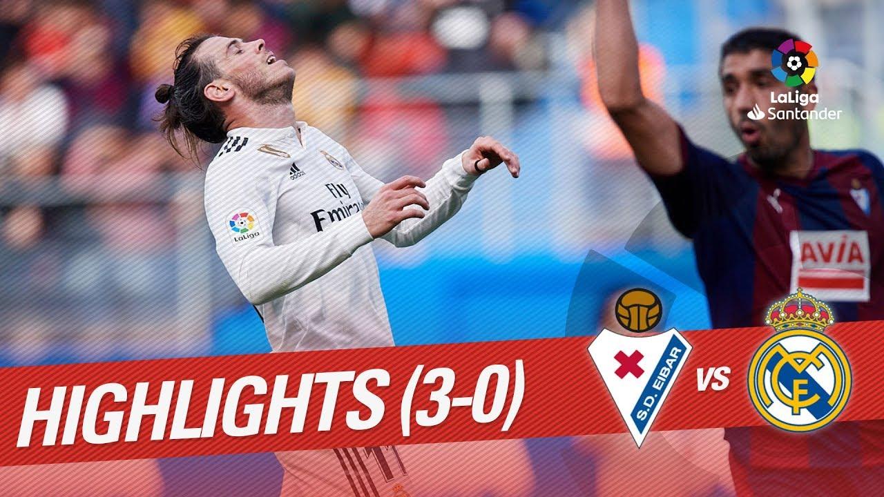e659d395b Highlights SD Eibar vs Real Madrid (3-0) - YouTube