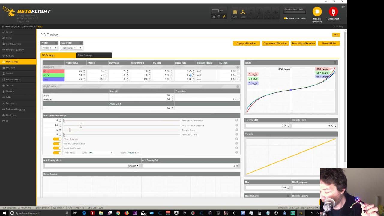 Live Betaflight Configurator 10 5 and Betaflight 4 0 update