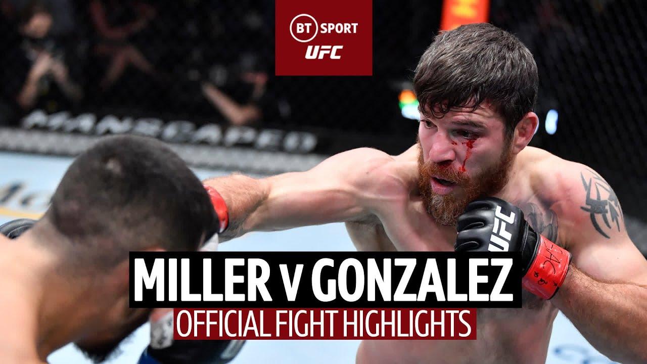 Download Jim Miller v Erick Gonzalez | Huge KO and UFC record! | UFC Fight Highlights