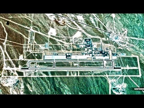 Google Earth Won't Update Images Of Area 51 - Secret Military Base