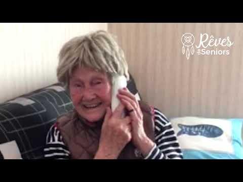 Michel Drucker exauce le rêve de Tina l Rêves de Seniors