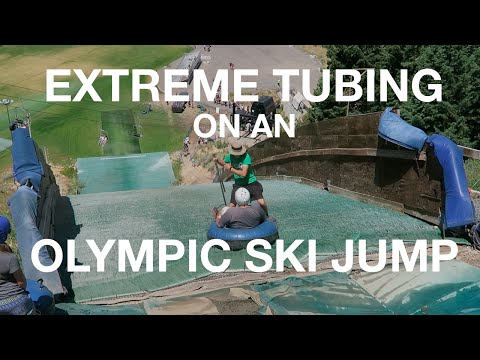 EXTREME TUBING at Olympic Park in Park City, UT