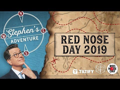 Stephen Colbert's D&D Adventure with Matthew Mercer (Red Nose Day 2019)