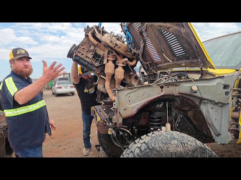 Jeep Parts Out… Toyota Parts In