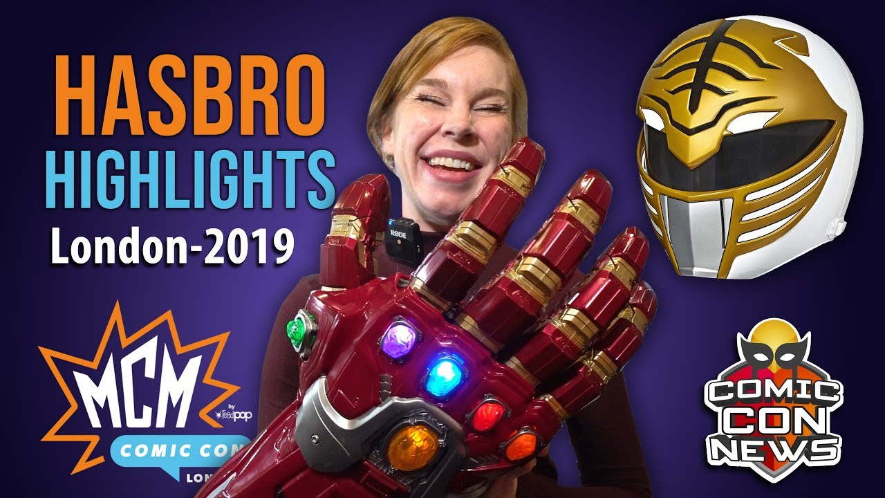 MCM Comic Con London 2019 Hasbro Booth Highlights