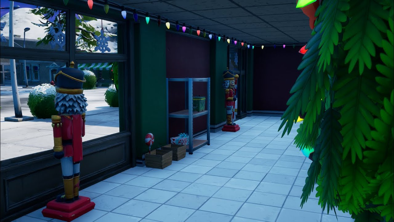 Where To Find And Destroy Five Fortnite Nutcracker Statues In Chapter 2 Season 5
