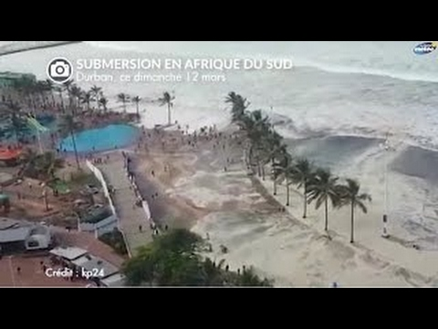 SPECTACULAIRE SUBMERSION EN AFRIQUE DU SUD Cyclone Enawo !! Dimanche 12 Mars 2017 - 2017