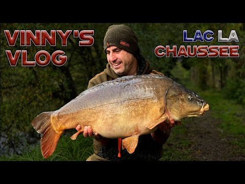 **FRENCH CARP FISHING** VINNY'S VLOG, LAC LA CHAUSSEE, DNA BAITS