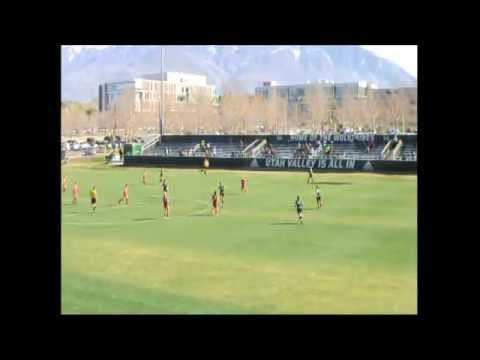 Real Salt Lake Women 2nd Team vs Utah Valley University 4/4/2015 (1st Half)