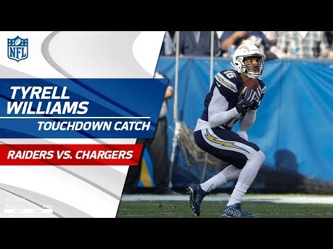 Philip Rivers Airs it Out to Tyrell Williams for 56-Yd TD! | Raiders vs. Chargers | NFL Wk 17