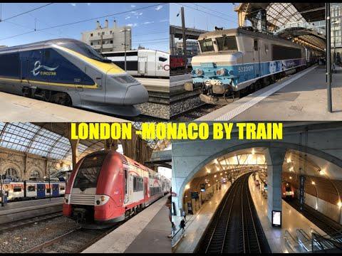Trip Report - London to Monaco by train