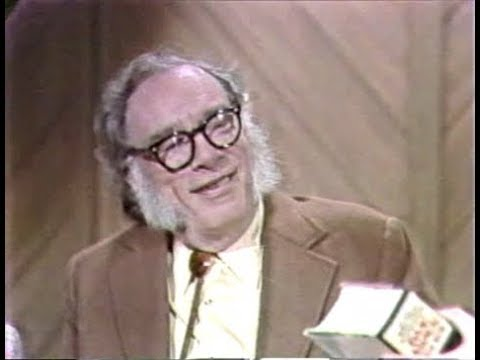 Isaac Asimov On The David Letterman Show, October 21, 1980