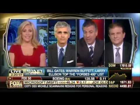 Bruce Turkel on Fox Business: Forbes to 400 list