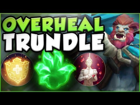 KOREAN OVERHEAL META EVERYWHERE! SUPER HEAL TRUNDLE SEASON 8 TOP GAMEPLAY! - League of Legends