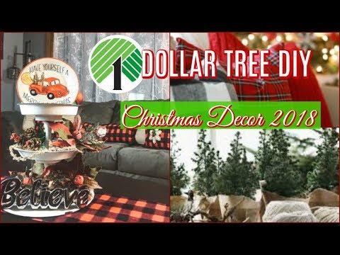 DOLLAR TREE DIY CHRISTMAS DECOR / CHRISTMAS DIY 2018 / DANIELA DIARIES