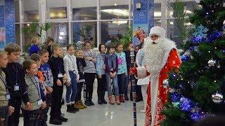 Омские школьники получили «путевки» на Кремлевскую елку