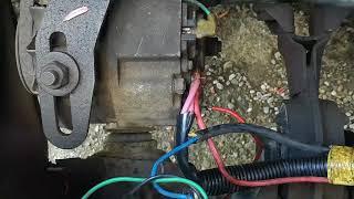 Нет зарядки аккумулятора ВАЗ 2110,2107,2108,2109, 2106,2105 плохой контакт плюсовой на генераторе