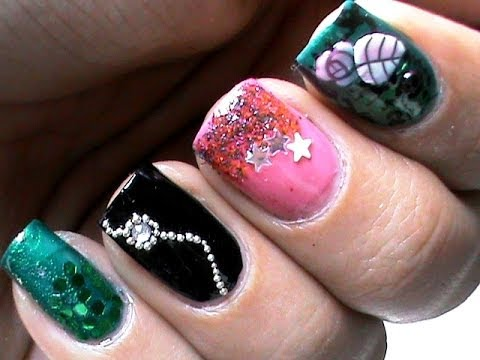 Trendy Nails: Cool Nail Polish Designs - YouTube