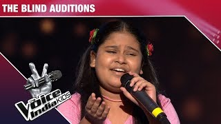 Sneha Shankar Performs On Yaad Piya Ki Aaye | The Voice India Kids | Episode 2