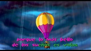 Manuelita - Decídete a Volar (con letras karaoke)