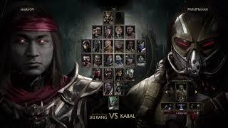 Mortal Kombat 11 Liu kang Ranked Match Online