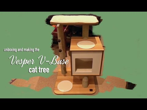 Unboxing & Building the Vesper V Base Cat Tree